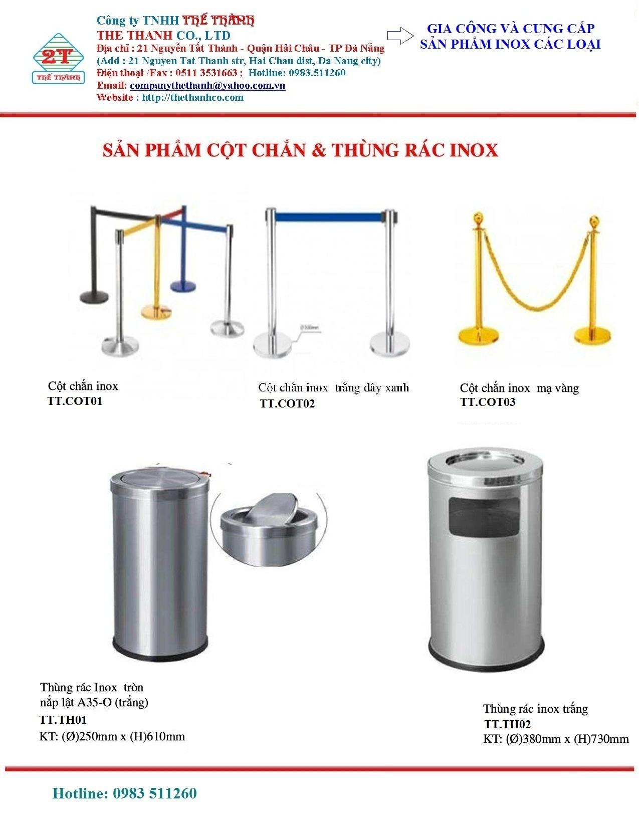 Các sản phẩm Inox khác